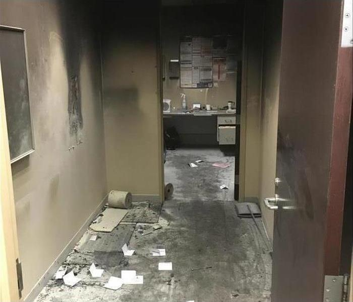 Commercial Fire damage – Sebring Offices