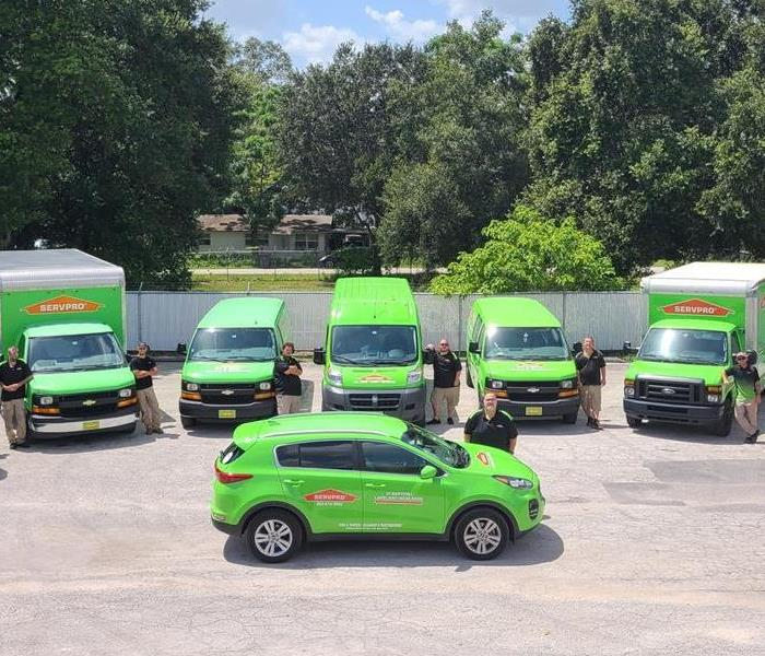 Picture of SERVPRO team